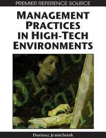 Management Practices in High Tech Environments PDF
