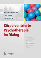 K  rperzentrierte Psychotherapie im Dialog PDF
