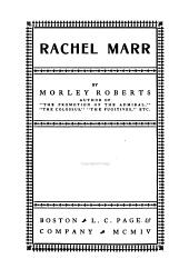 Rachel Marr