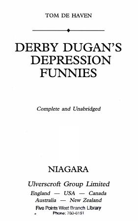 Derby Dugan s Depression Funnies PDF
