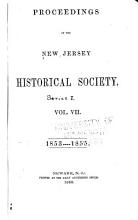 Proceedings of the New Jersey Historical Society PDF