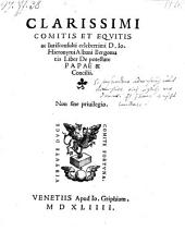 Liber De potestate Papae & Concilii