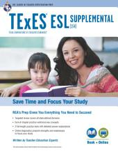 Texas TExES ESL Supplemental (154) Book + Online