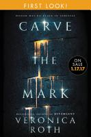 Carve the Mark  Free Chapter First Look PDF