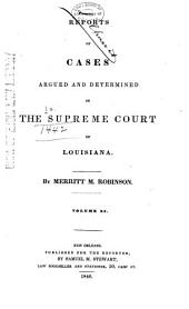 Louisiana Reports: Cases Argued and Determined in the Supreme Court of Louisiana, Volume 50
