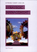 Extremely Short Cases on Strategic Management PDF
