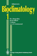 Advances in Bioclimatology 1