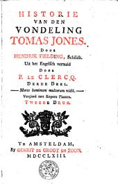 De historie van den vondeling Thomas Jones: Volume 3