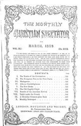 The Monthly Christian Spectator Book PDF