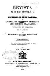 Estatutos do Instituto historico e geographico brasileiro: installado no Rio de Janeiro em o dia 21 de outubro de 1838, Volume 1