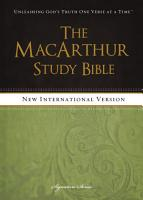 NIV  The MacArthur Study Bible  eBook PDF