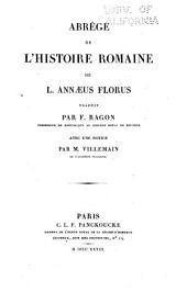 Abrégé de l'histoire romaine de L. Annæus Florus