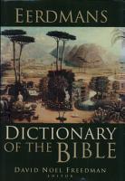 Eerdmans Dictionary of the Bible PDF