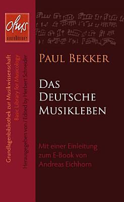 Das deutsche Musikleben PDF