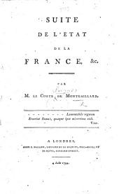 Suite de l'État de la France. (Postscriptum.).