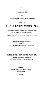 The life and a selection from the letters of Henry Venn