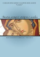 Maria Sempre Virgem E Santa