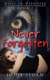 Wolf In Disguise: Never Forgotten: An Erotic BBW Werewolf Pregnancy Romance Series, Book 2