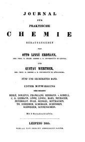 Journal für praktische Chemie: Band 65