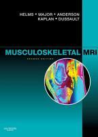 Musculoskeletal MRI E Book PDF
