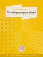 Effetti dell'iperinsulinemia acuta sul sistema endocannabinoide del tessuto adiposo