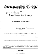 Verhandlungen des Reichstags: Band 149