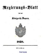Regierungs Blatt f  r das K  nigreich Bayern PDF