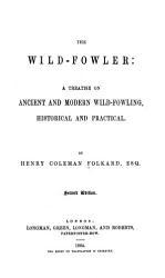 The Wild fowler PDF