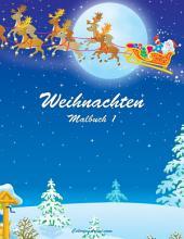 Weihnachten Malbuch 1
