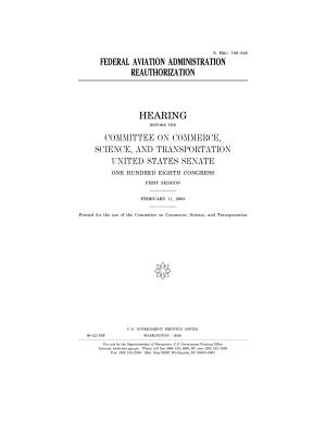 Federal Aviation Administration Reauthorization PDF