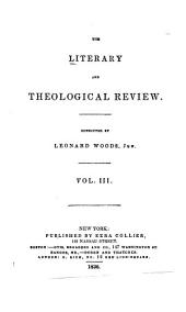 Literary and Theological Review: Volume 3