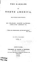 The Rambler in North America  1832 1833 PDF
