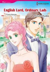 ENGLISH LORD, ORDINARY LADY: Harlequin Comics
