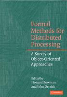 Formal Methods for Distributed Processing PDF