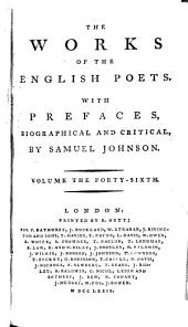 The Works of the English Poets: With Prefaces, Biographical and Critical, Volume 46