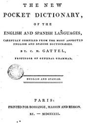 The New Pocket Dicionary Of The English And Spanish Languages Book PDF