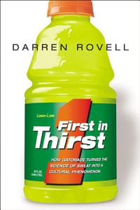 First in Thirst Book