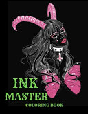 Ink Master Coloring Book