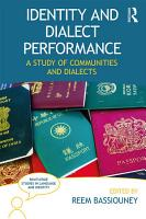 Identity and Dialect Performance PDF