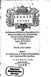 Le Catechisme de Genêve
