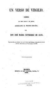Un verso de Virgilio: comedia en tres actos y en prosa