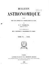 Bulletin astronomique: Volume 6