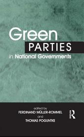 Green Parties in National Governments