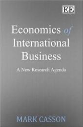 Economics of International Business: A New Research Agenda