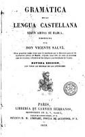 Gram  tica de la lengua castellana seg  n ahora se habla PDF
