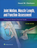 Joint Motion  Muscle Length  and Function Assessment PDF