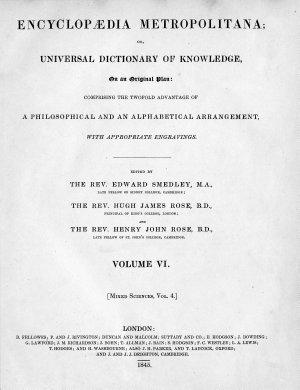 Encyclop  dia Metropolitana PDF