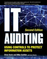 IT Auditing Using Controls to Protect Information Assets  2nd Edition PDF