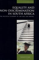 Equality and Non discrimination in South Africa PDF