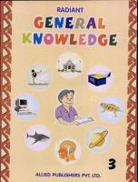 Radiant General Knowledge   Book 3 PDF
